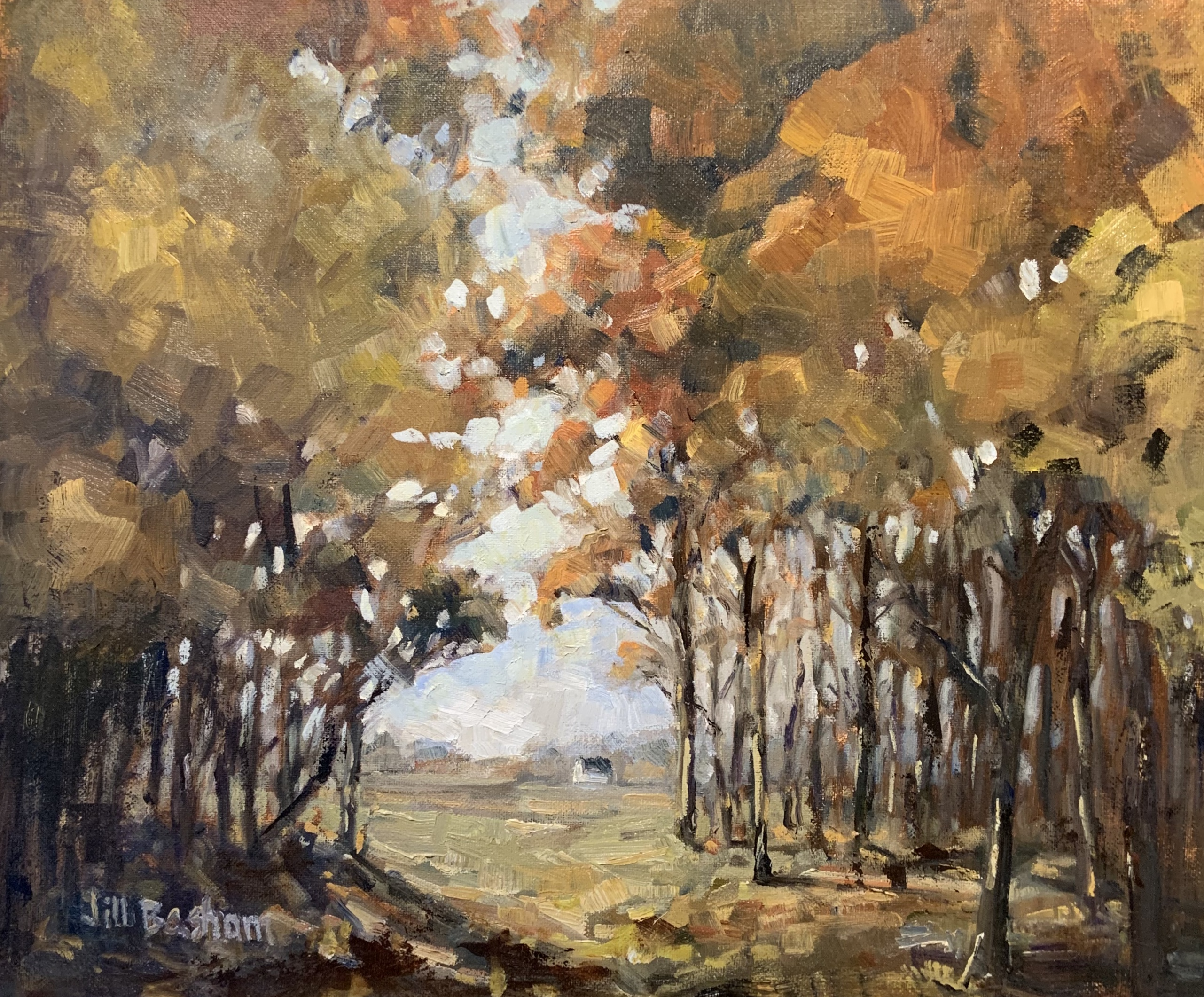 Autumn Quiet-Basham, oil 16x20 $2800