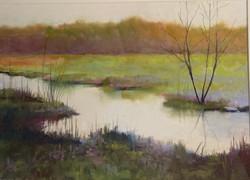 Sunday Morning, pastel 10x14 $750