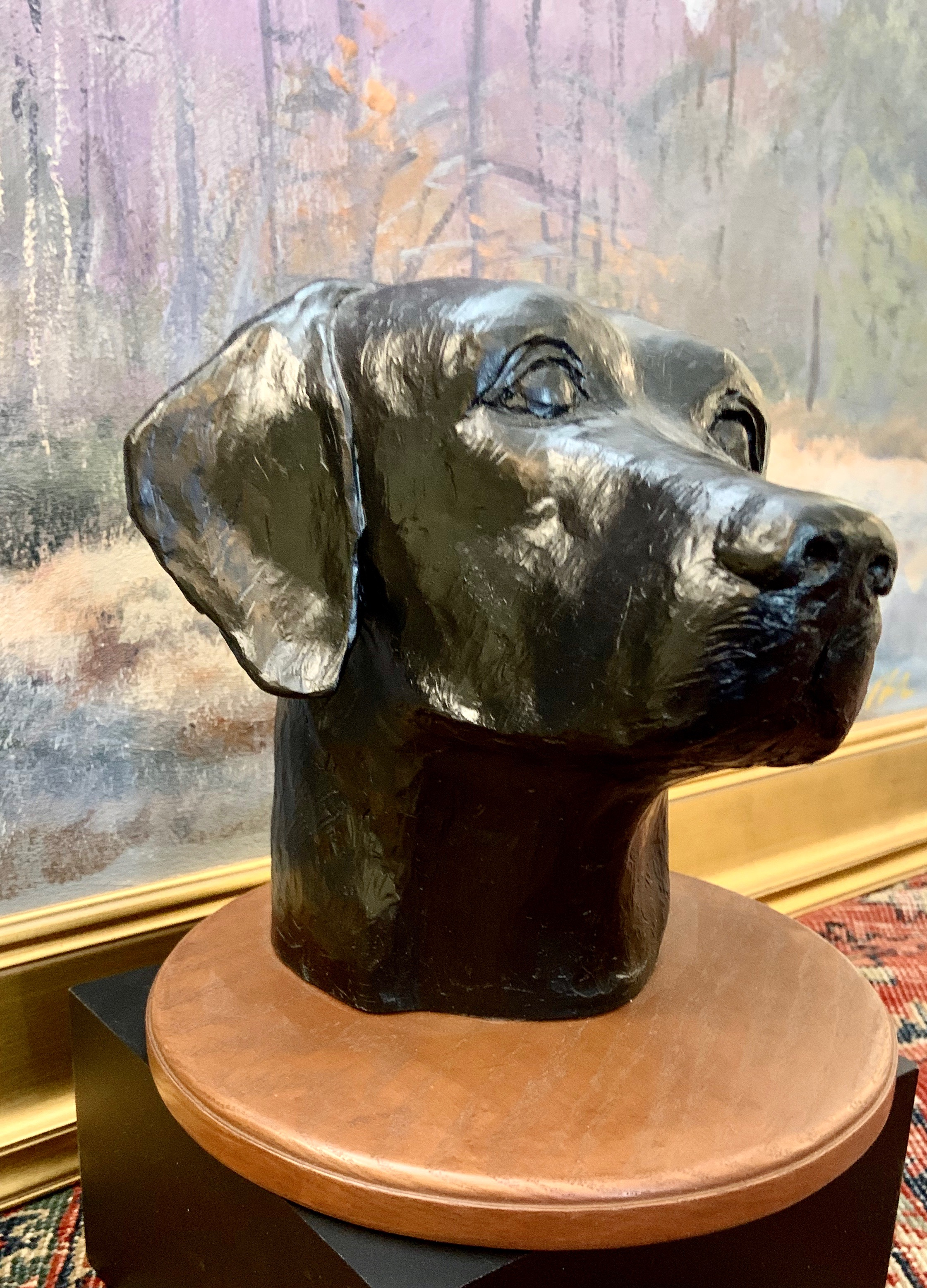 Labrador Head-Bennett resin $325