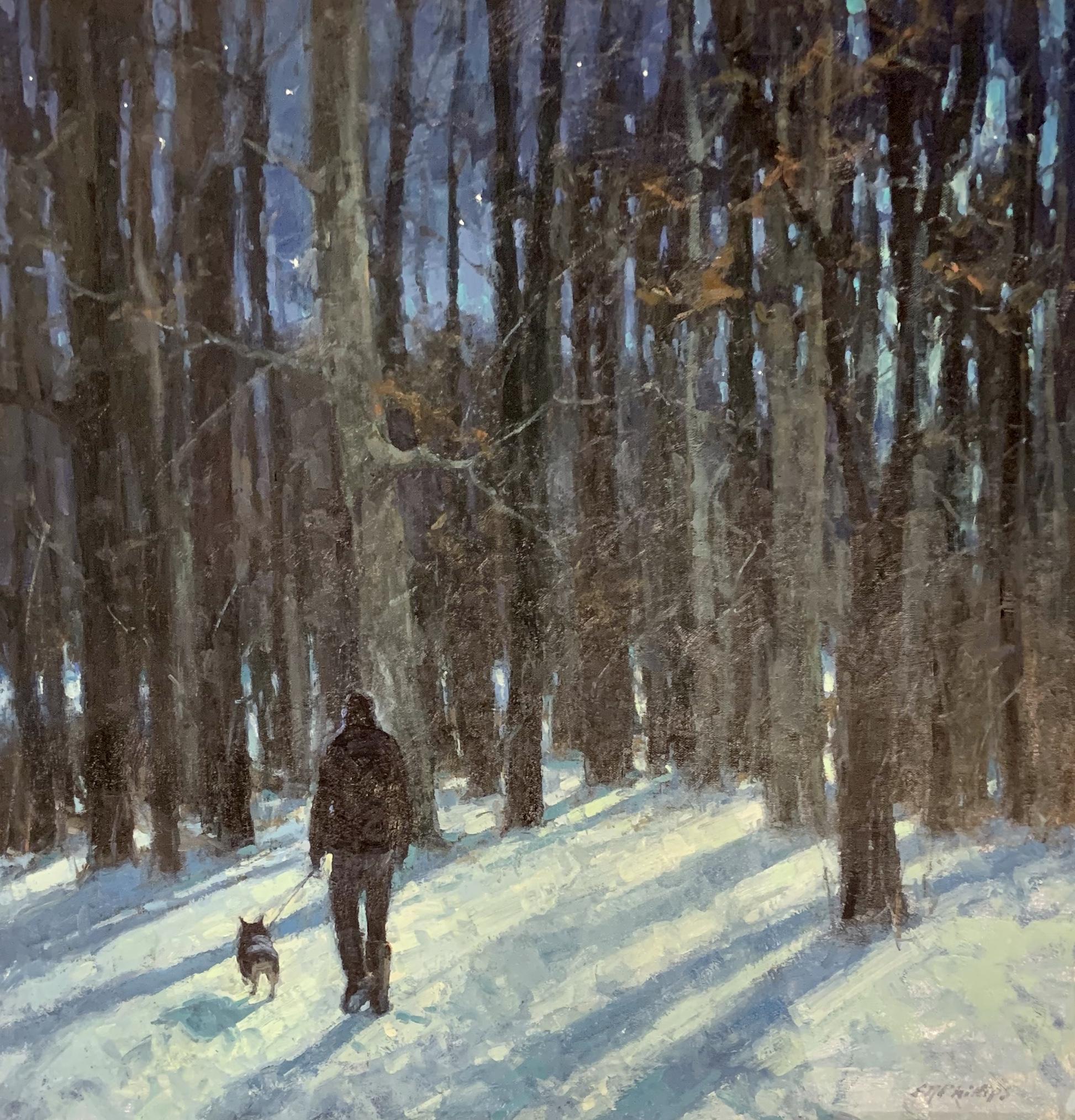 Moonlit Walk-Phillips $3200