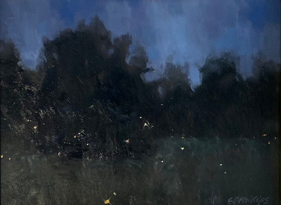 Midsummer Night, Phillips, Oil 6x8 $675