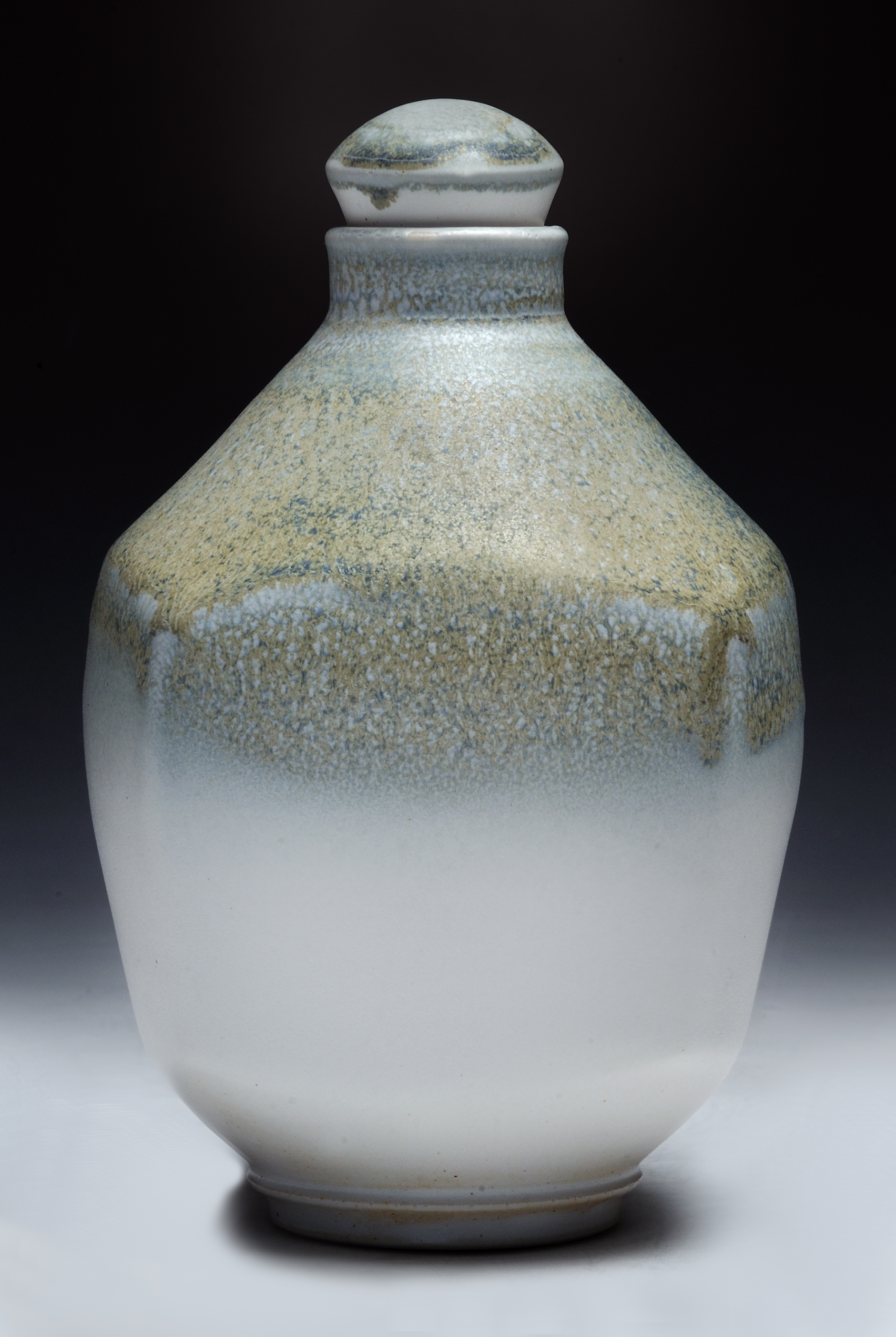 Altered Flask-Bisgyer $375 porcelain