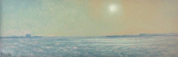 Soft Moonlight, oil 2 3_8_x7 1_4_ $825