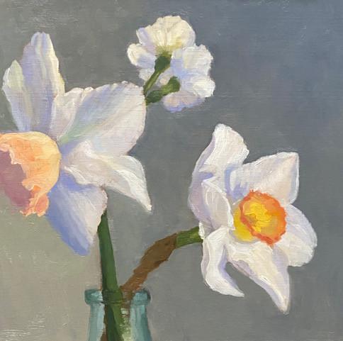 Grace by Meg Walsh,oil 12x12 $900