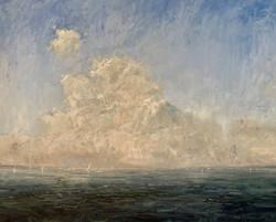 Friday's Chesapeake, oil 48x60 $14,000