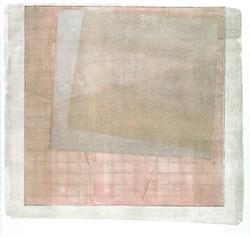 Screened Grid #1-Mastin White, 22x30 monoprint $2070