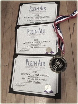 Plein Air Easton Awards