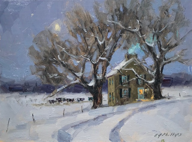 Cold Winter Night-Phillips $675