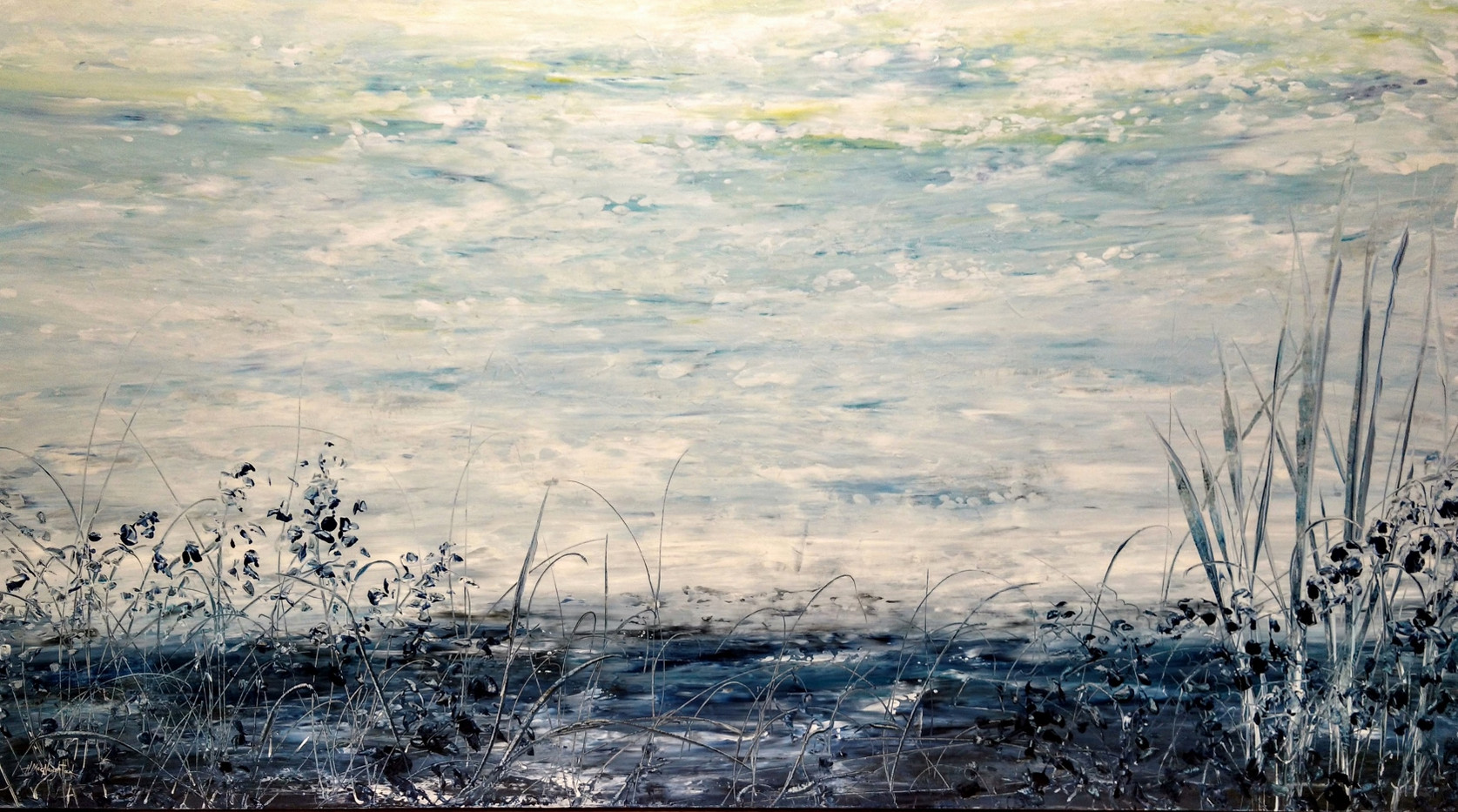 After The Rain, 40x72 $3900
