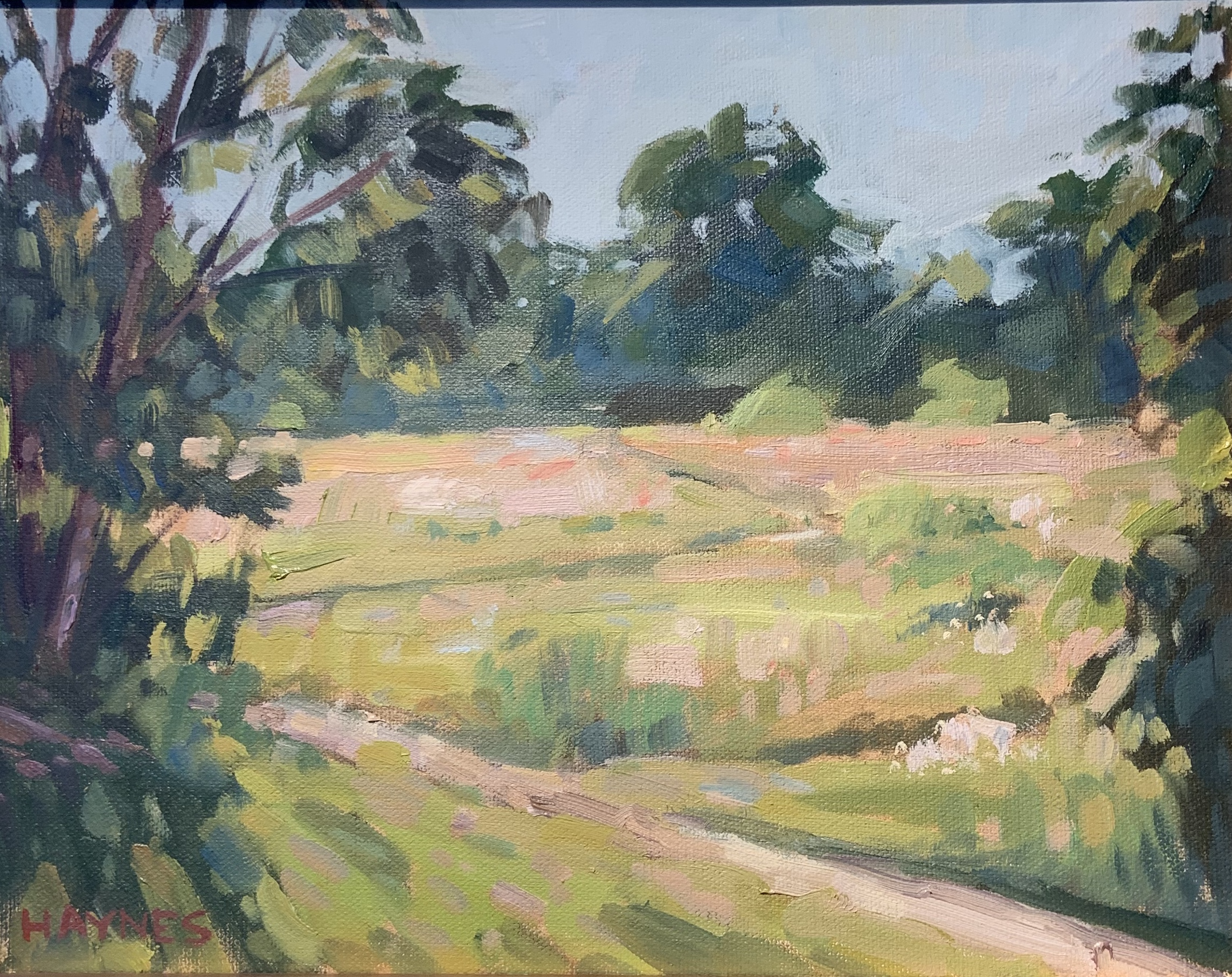 Moring Meander-Haynes, oil 11x14 $600