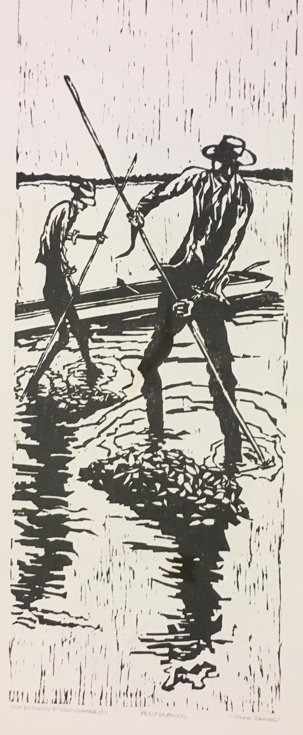 PBMcMartin-ClamRakers woodcut  $1500