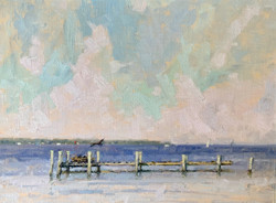 The Old Dock, oil 12x16 $1850