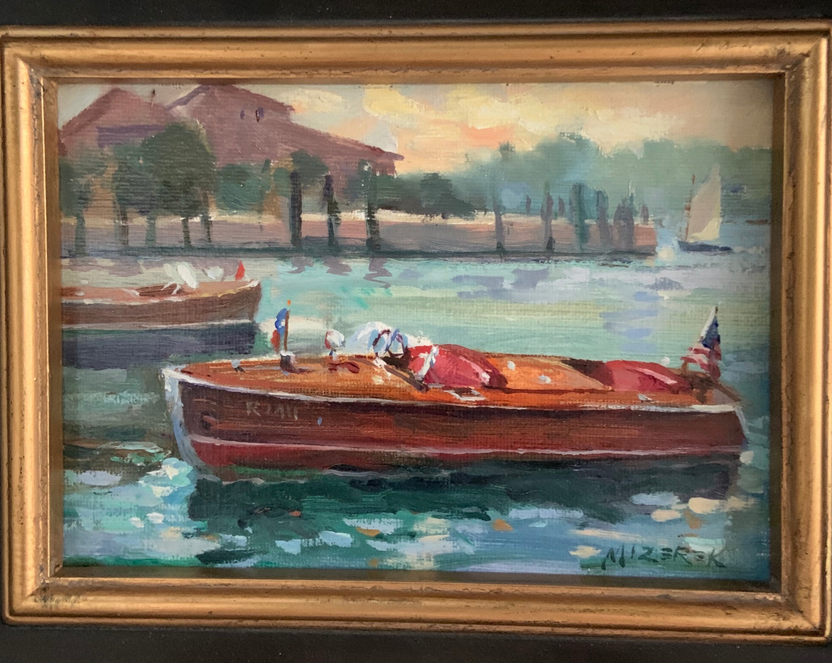 Chris Craft Classic by Len Mizerek, 5x7