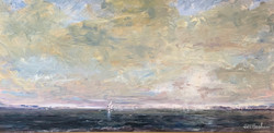 Windward on the Bay, oil $3300 12x24