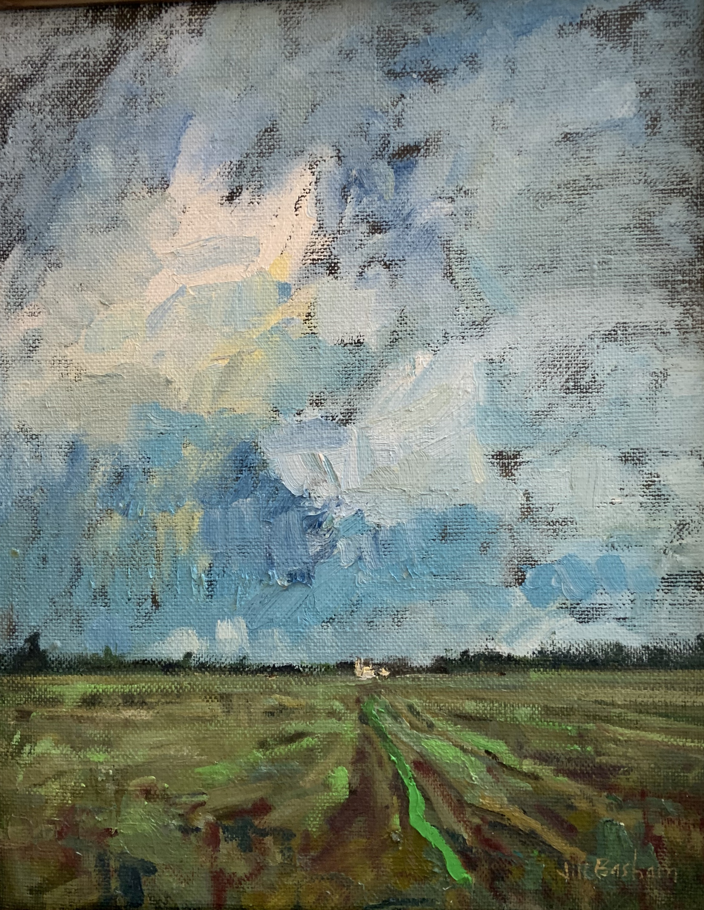 Fertile Soil-Basham, oil 20x16 $3200
