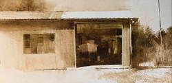 Boatyard, oil 32x16 $3950