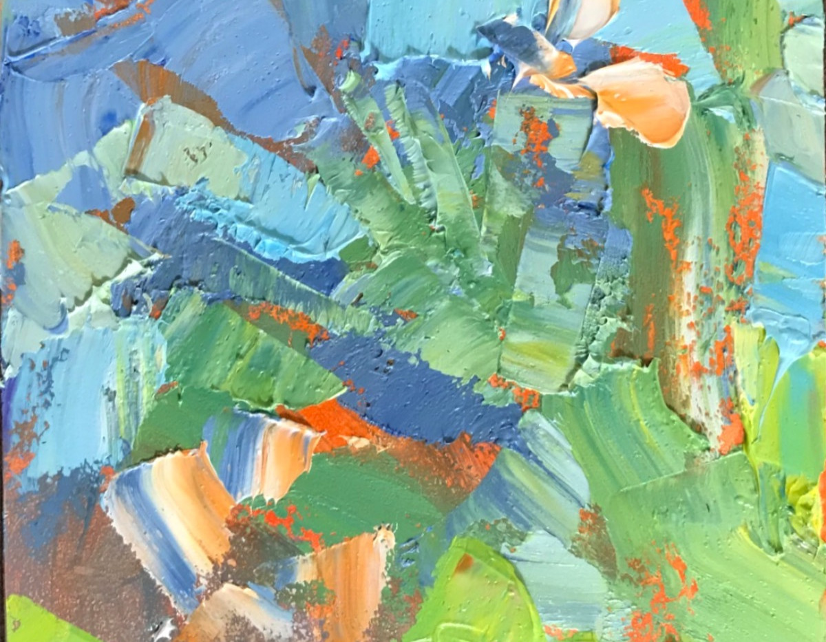 Summer Country Colors-Rosen 4x4 $375