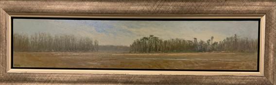 Marshland, Pisano, oil 4x20 $2800