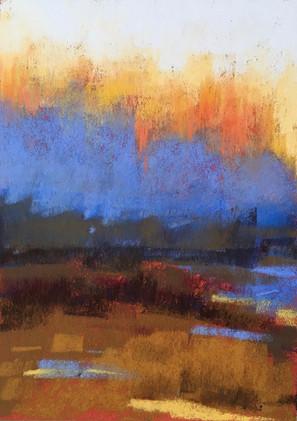 Untitled, pastel 5x7 $650