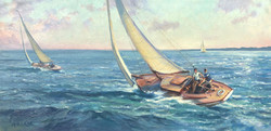 Breezing By-Mizerek, oil12x24 $2700