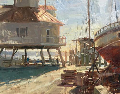 Light on the Chesapeake, oil 18x24 $3900