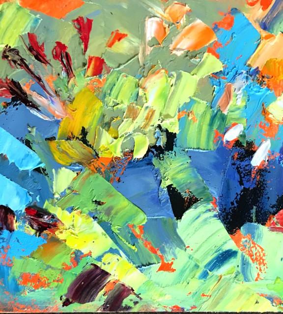 For Love of Springtime Flowers-Rosen 4x4 $375