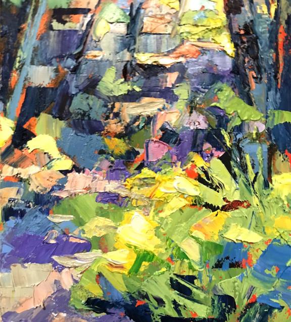 The Pathway-Rosen, oil 6x8 $675 8x6