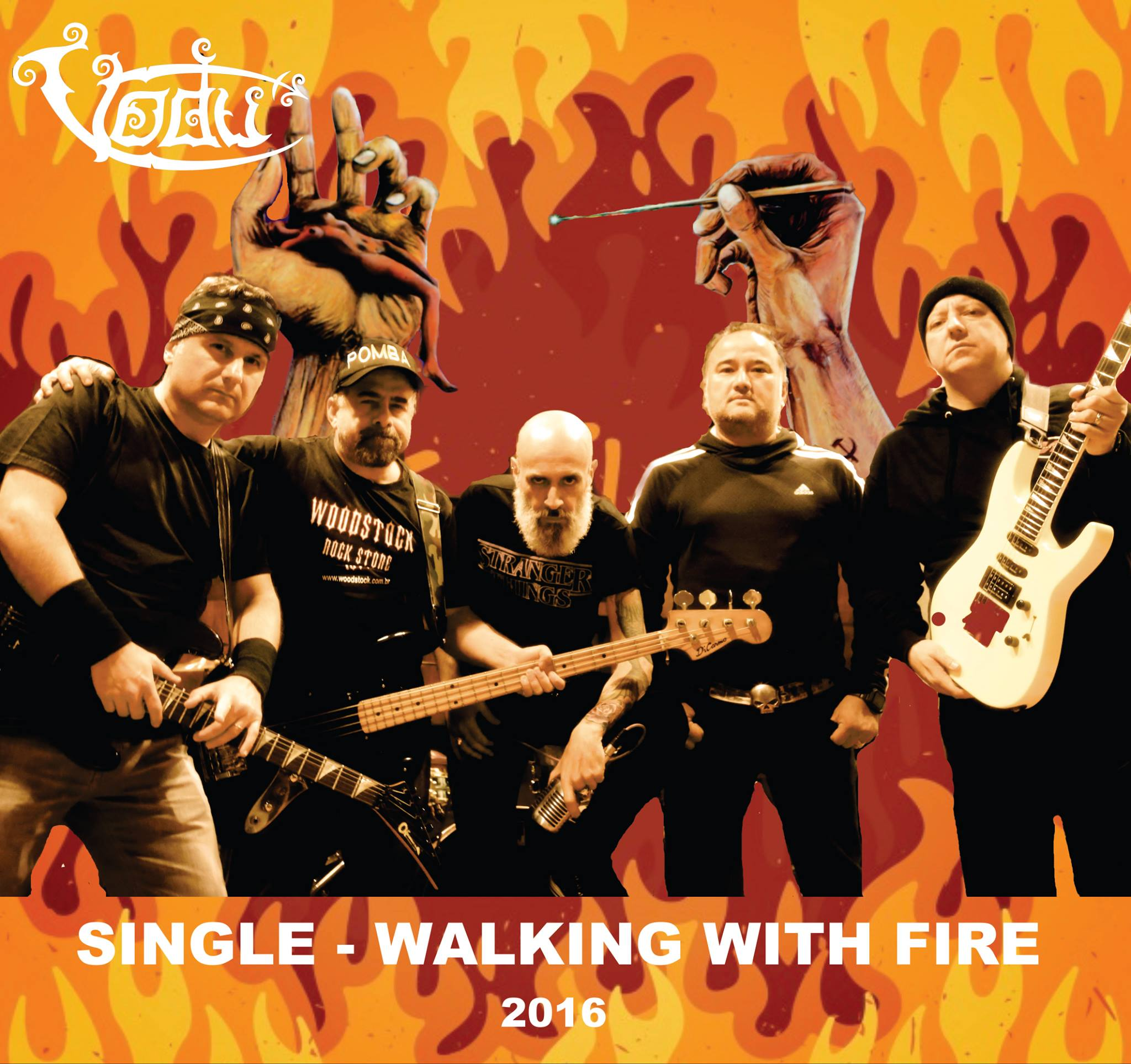 Walking With Fire - single