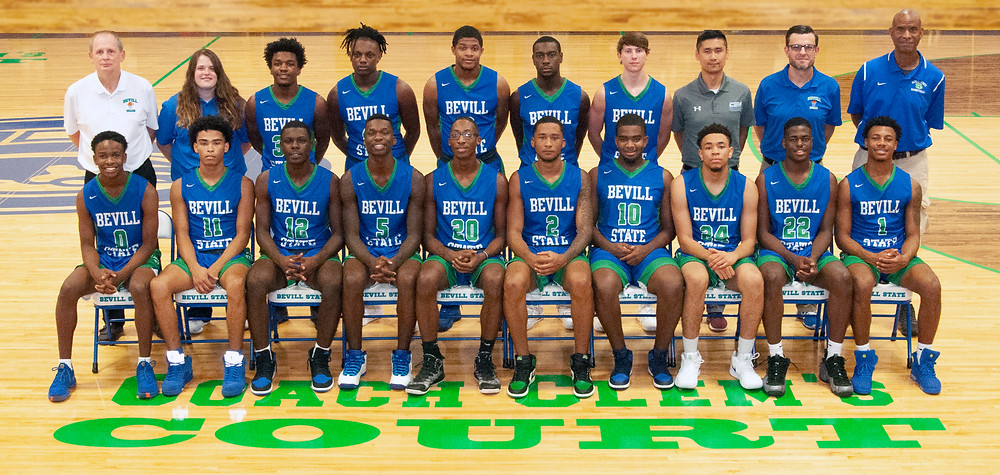 Bevill State 2018 Basketball Team Photo