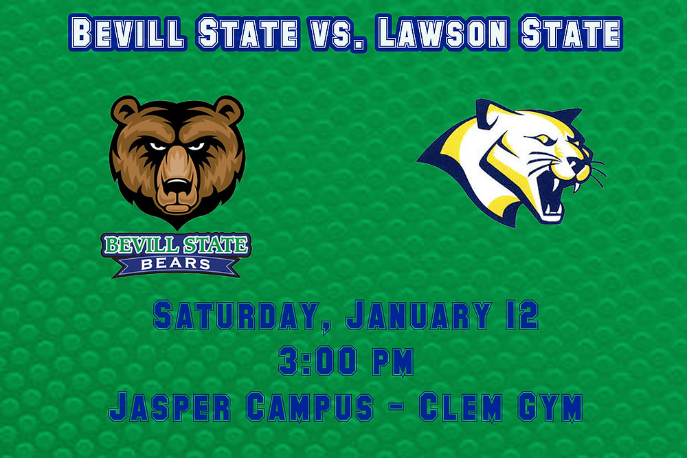Bevill State vs. Lawson State graphic