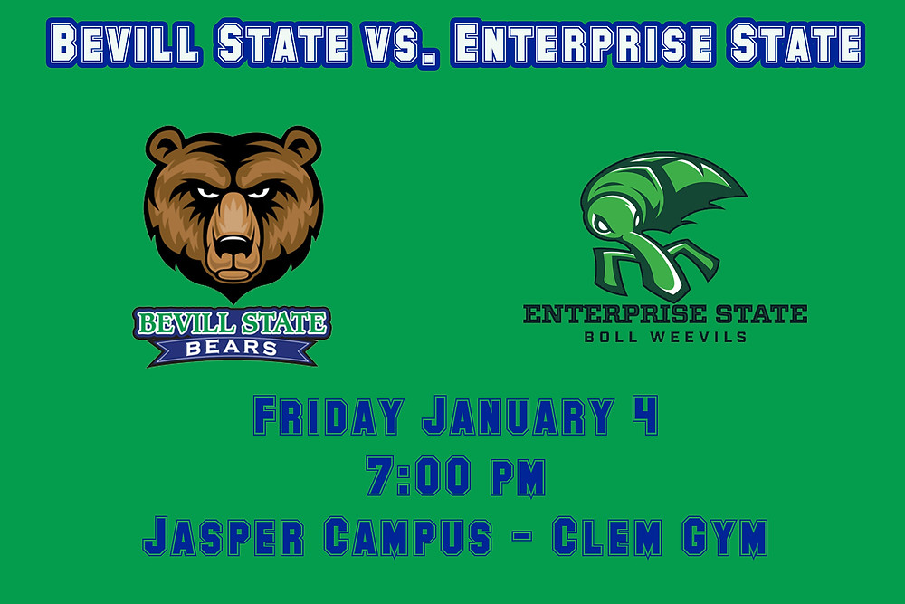 Bevill State vs. Enterprise State graphic