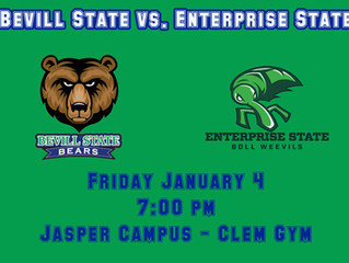 Bevill Bears Face Enterprise State in First Game of the New Year