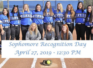 Bevill State To Recognize Softball Sophomores