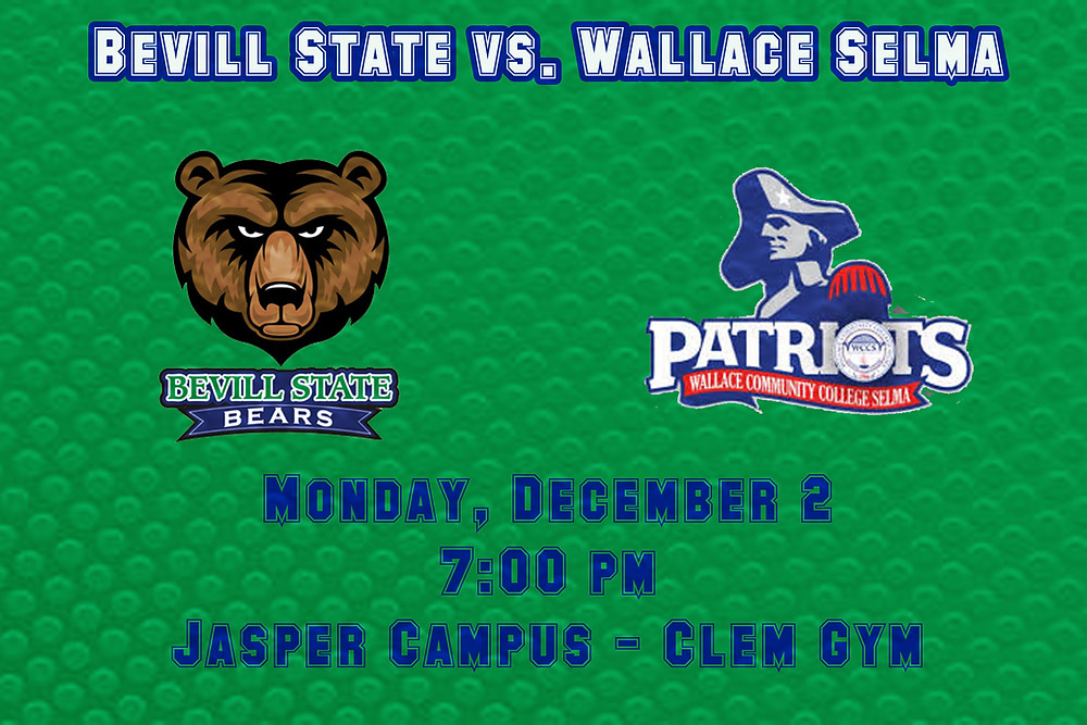 Bevill State vs. Walllace Community College Grpahic