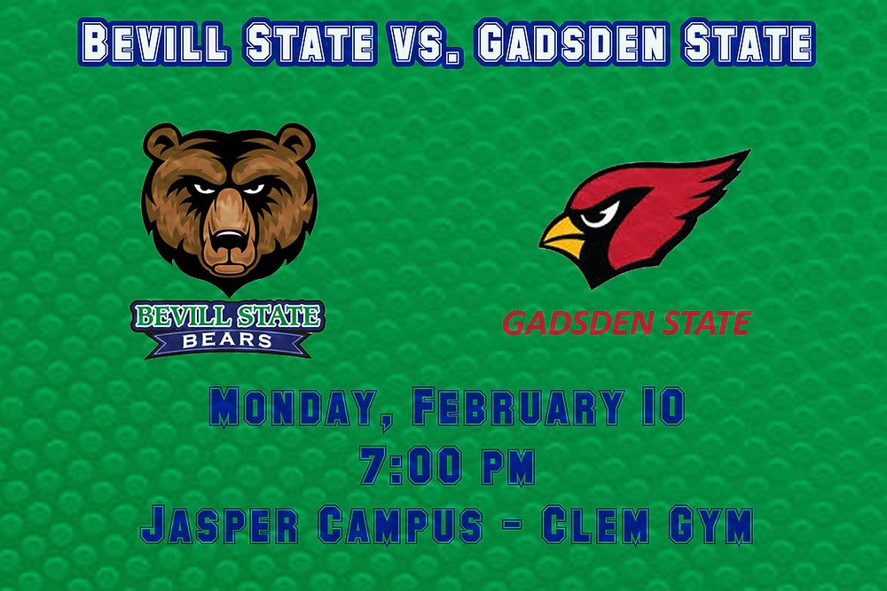 Bevill State vs. Gadsden State graphic