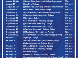 Bevill State Volleyball 2019 Schedule
