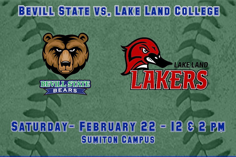 Bevill State vs. Lake Land College graphic