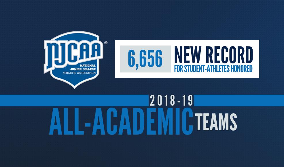 NJCAA All-Academic Teams Graphic