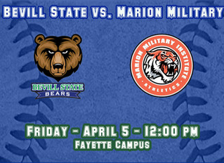 Baseball Game with Marion Military Rescheduled