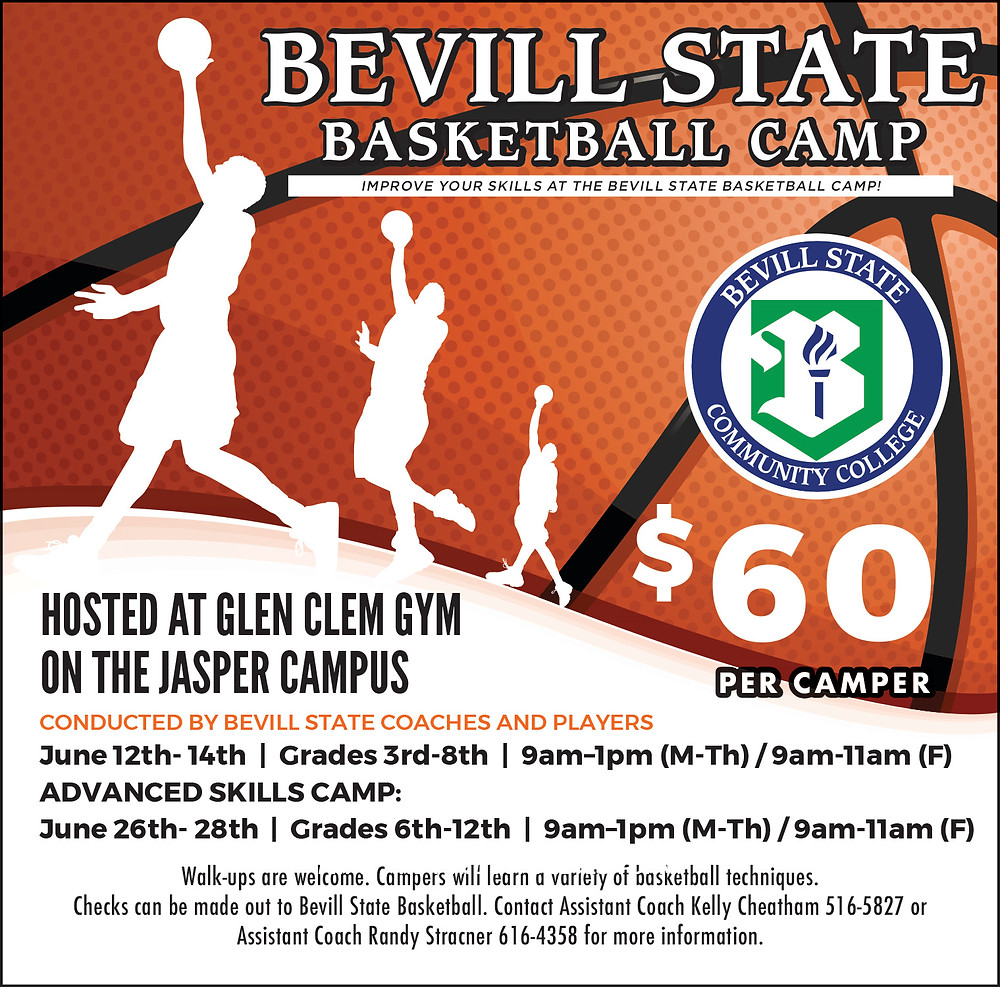 Bevill State Basketball Camp Flyer