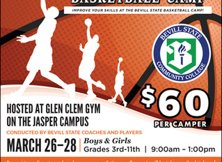 Bevill State to Host Basketball Camp