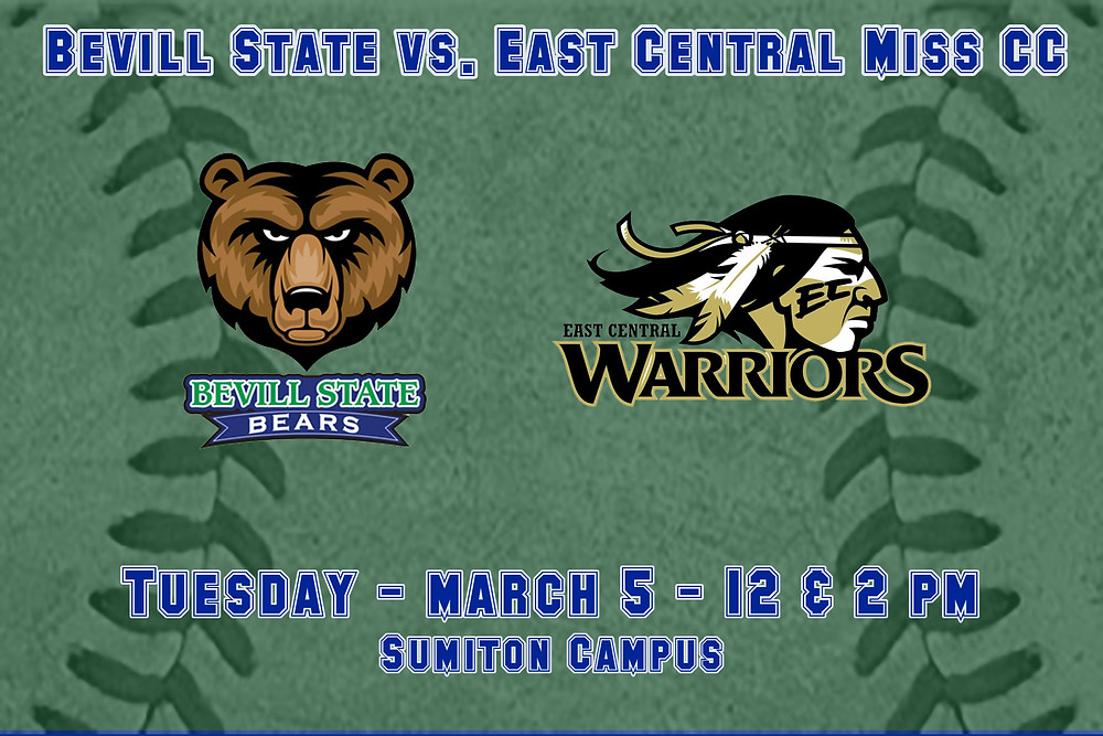 Bevill State vs. East Central Mississippi graphic