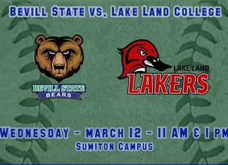 Bevill State Softball Hosts Lake Land College