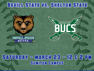 Bevill State Taking on Shelton State in both Baseball and Softball Saturday, March 23