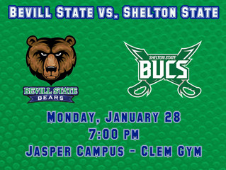 Bevill State Host Shelton State at Home