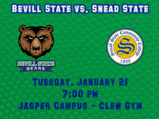 Bevill State Hosts Snead State in Basketball