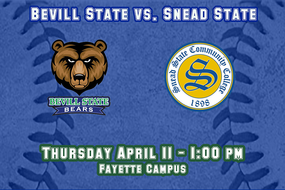 Bevill State vs. Snead State Graphic