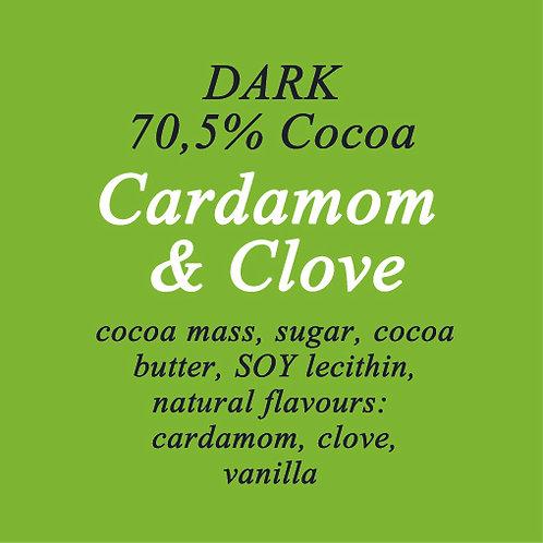 Cardamom & Clove Dark Chocolate