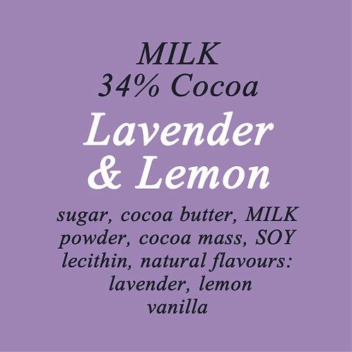 Lavender & Lemon Milk Chocolate
