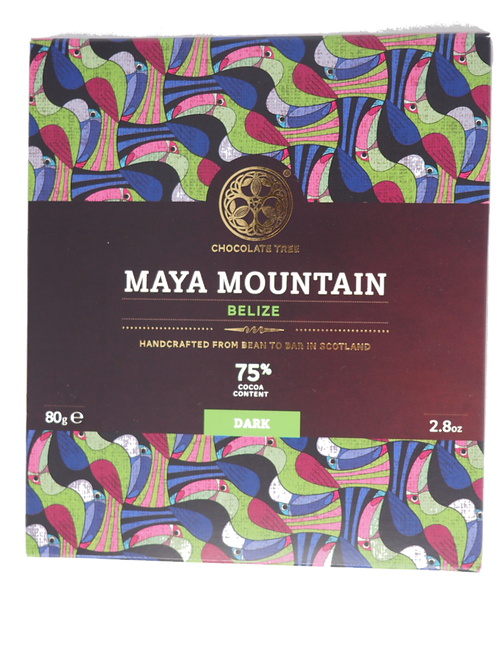 CHOCOLATE TREE Belize dark 75% cocoa